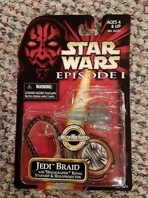 Star Wars Episode 1 Jedi Braid MOC Micro Machines Holographic Starship ](Jedi Braid)