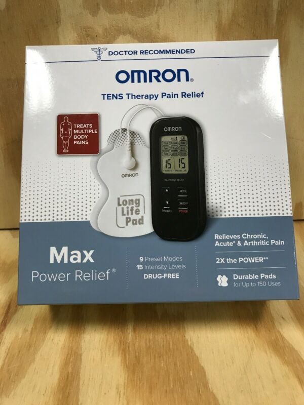 Omron PM500 MAX Power Relief Electro Therapy Tens Device New