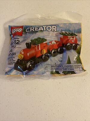 Lego 30543 Creator Holiday Christmas Train Lego Kit New Sealed