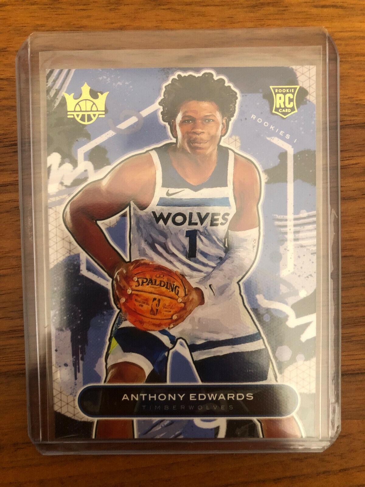 2020-21 Panini Court Kings RC #70 Anthony Edwards - Minnesota Timberwolves
