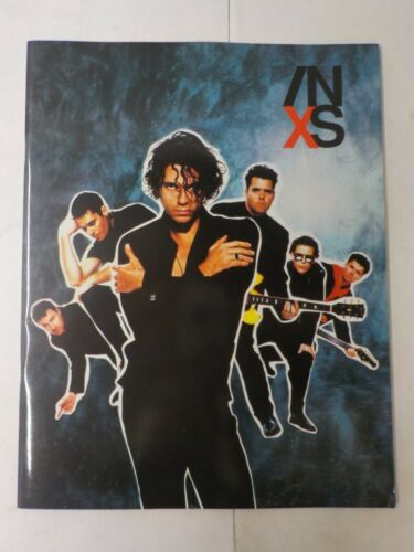 N INXS 1990 Kiss TOUR CONCERT PROGRAM BOOK