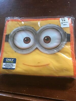 Despicable Me 2 MINION soft lunch box Best Buy Exclusive Brand New -