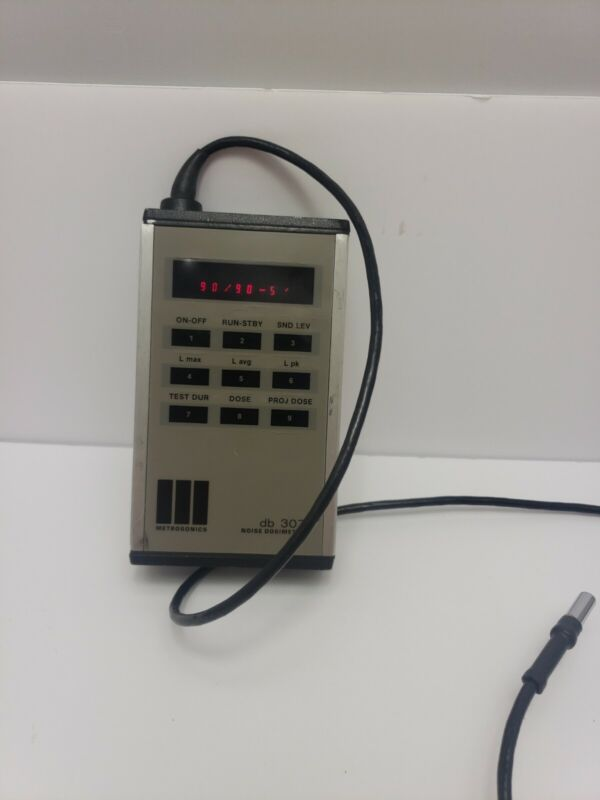 METROSONICS db 307 Noise Dosimeter