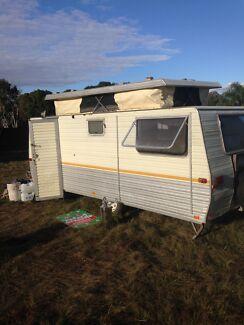 AWESOME 15 FT Pop Top Caravan Cedar Vale Logan Area Preview