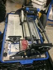 Wet tile saw 13 ""