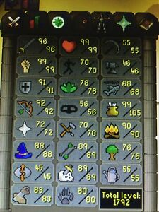 Old school runescape 07 account