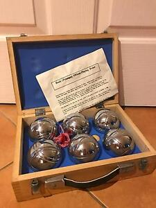 Vintage bocce / boules set / lawn games Higgins Belconnen Area Preview
