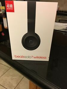 Beats Solo 3 wireless - matte black
