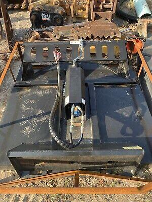 New 72 Hydraulic Skid Steer Brush Cutter Bush Hog Mower