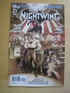 NIGHTWING  3.  1st PRINT.  by Kyle  Higgins. THE NEW 52. DC. 2012