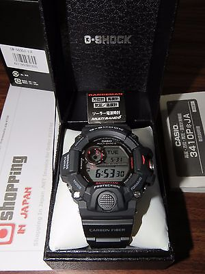 G-Shock Rangeman GW-9400J-1JF with Carbon Fiber Strap Version (NEW 100%) for sale  Shipping to Canada