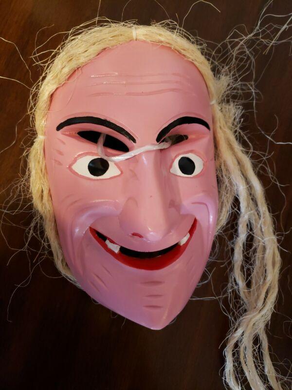 Mascara Tipica Artesanal De La Danza De Los Viejitos