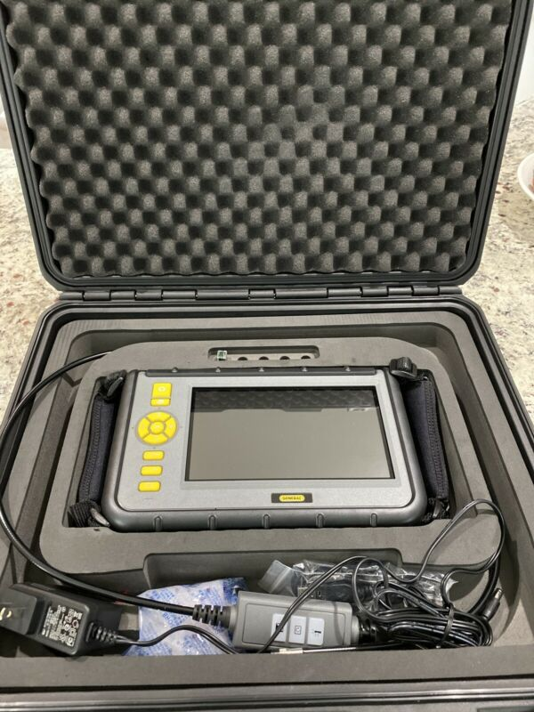 """General Tools DCS2000 Video Inspection/Recording Borescope, 7"""" LCD"""