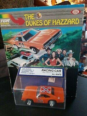 1981 THE DUKES OF HAZZARD GENERAL LEE DODGE IDEA SLOTLESS RACING CAR MOC