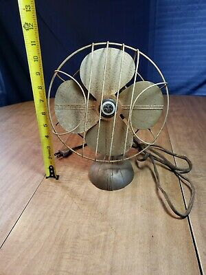 Vintage Chicago Electric Sterling Type Asup Fan 110 Volt 60 Cycle 6 Amp