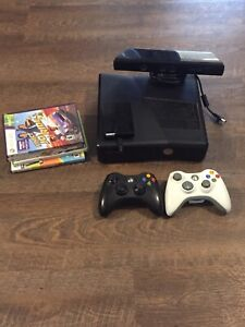 Xbox 360 bundle with games and Kinect