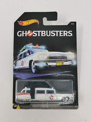 Hot Wheels 1/64 Scale Diecast DWF01 - Ecto-1 - Ghostbusters Series 7/8