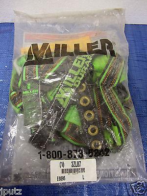 Miller By Honeywell Large Green 400 Lb Full Body Harness - E8095