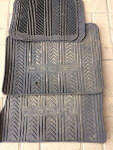Dodge floor mats