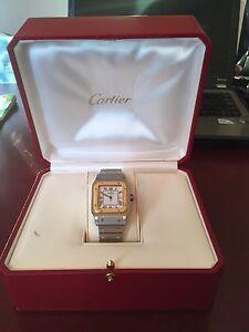 Cartier Watch (18k gold )