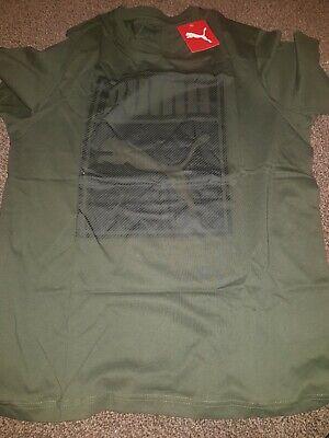 Puma T shirt mens 1 item Green