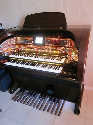 NICE Lowrey ROYALE electronic organ !!! large TOUCH screen  !!! ( Mahogany wood)