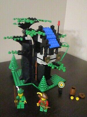 Vintage (1988) LEGO Castle set 6054 Forestmen's Hideout - VERY RARE