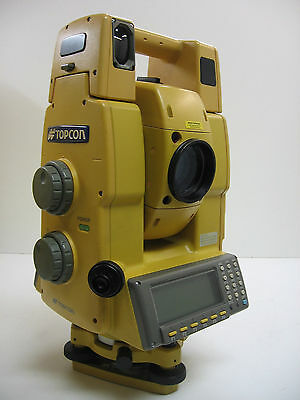 Topcon Gpt-8203a Robotic Total Station W Ranger 200c One Month Warranty
