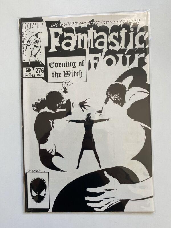 FANTASTIC FOUR # 276 MARVEL COMICS 1985 BYRNE DOCTOR STRANGE APPEARANCE