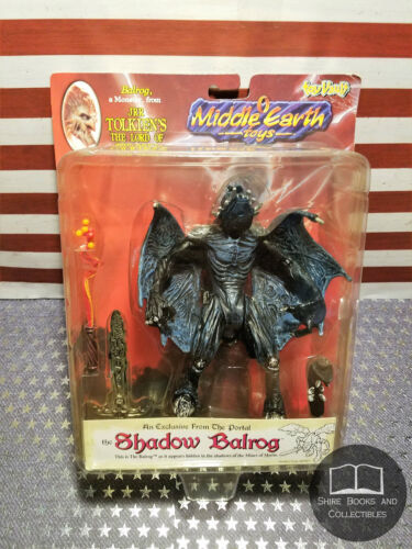 NEW SEALED Shadow Balrog Toy Vault 1998 Tolkien Lord Rings Middle Earth LOTR