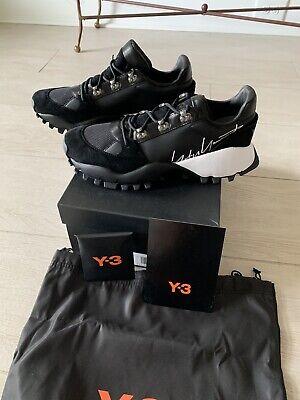 Adidas Y3 BY YOHJI YAMAMOTO Khoi trail Black Y-3 Men Shoes Size 9 1/2