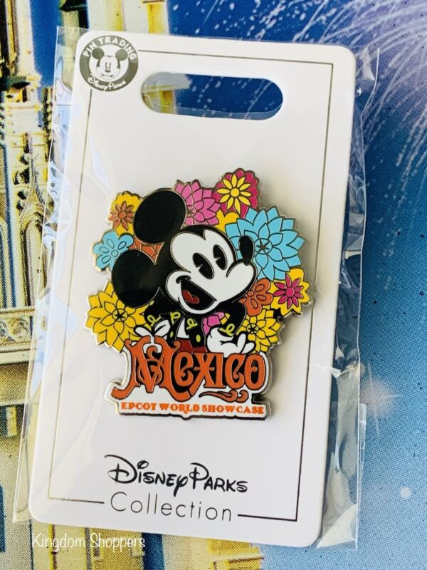 2021 Disney Parks Epcot World Showcase Pin Mexico Mickey Mouse