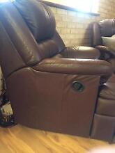 Leather couch and 2 recliners- moving sale Hamersley Stirling Area Preview