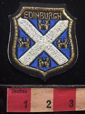 EDINBURGH Scotland Patch United Kingdom UK 71B5
