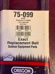 Ride on mower belt for Craftsman, Husqvarna, Poulan, etc. NEW!!