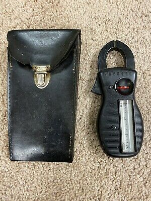 Vintage Amprobe Ampvolt Rotary Clamp Meter In Case