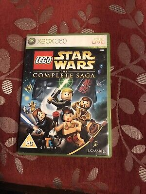 XBOX 360 LEGO STAR WARS THE COMPLETE SAGA.