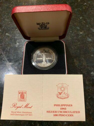 1983 UNIVERSITY OF THE PHILIPPINES DIAMOND JUBILEE, BU SPECIMEN with literature