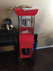 Stand up popcorn maker movie style