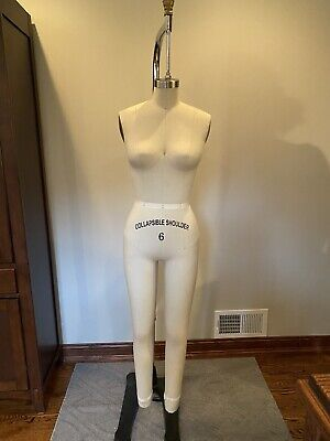 Professional Pro Female Working Dress Form Mannequin Full Size 6