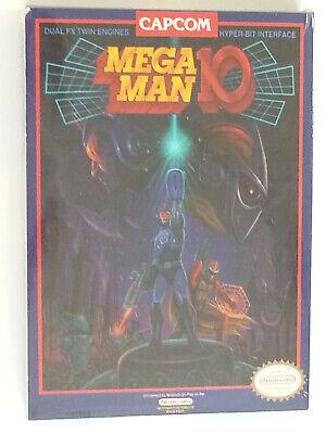 Nintendo NES Mega Man 10 Press Kit - sealed