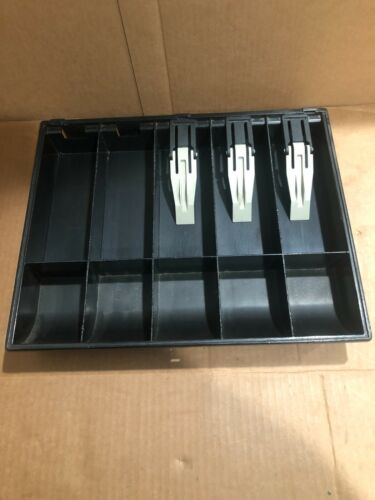 Cash Drawer Insert Money, 5 Bills, 5 Coins MADE IN U.S.A FREE SHIPPING