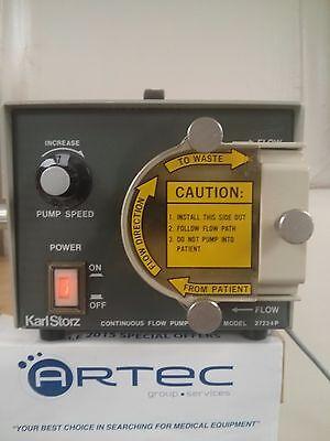 Karl Storz 2722p Arthroscopy Pump