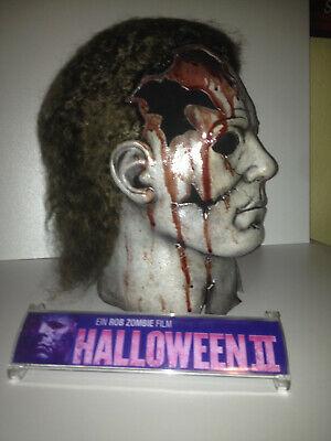 Halloween 2 Rob Zombie Maske Michael Myers - Michael Myers Halloween Maske