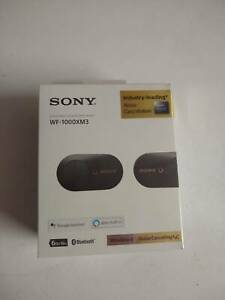 Brand New! Sony WF-1000XM3 Noise Cancelling Wireless Headphones
