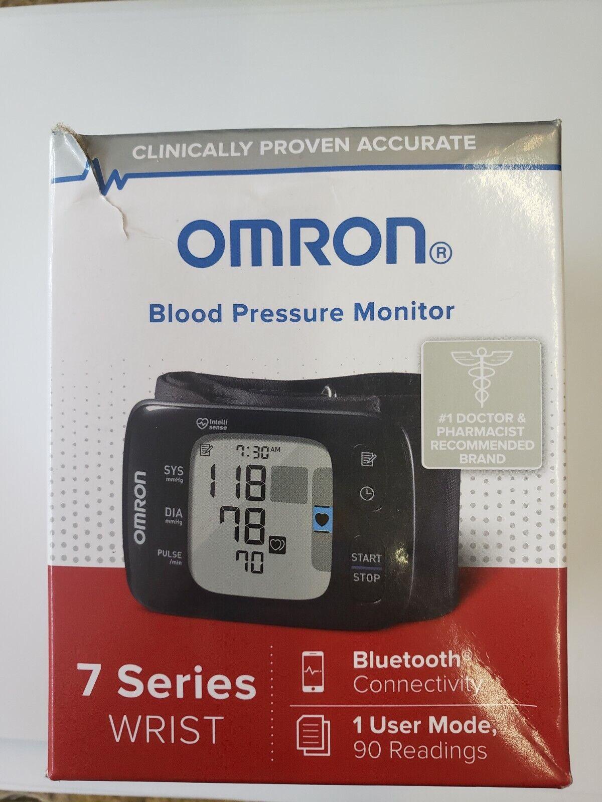 New Omron Blood Pressure Monitor 7 Series Wrist Bluetooth He