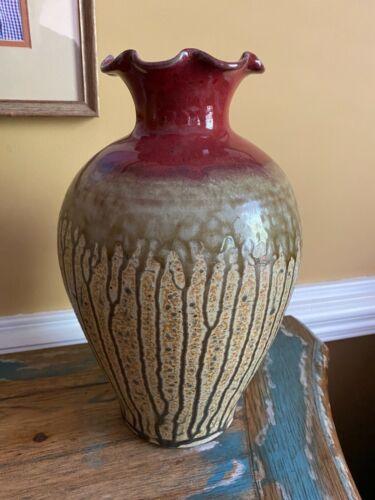 Nichols Pottery NC Vase Large