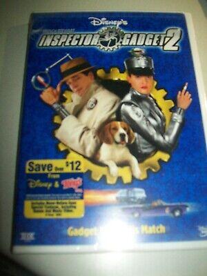 Inspector Gadget 2  Gadget Meets His Match Widescreen DVD NEW SEALED