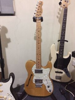 Fender telecaster thinline 72' reissue japan