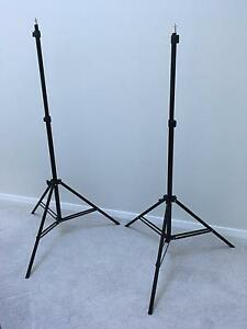 Studio Light Stands x 2. Excellent condition 210cms Wentworth Falls Blue Mountains Preview